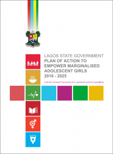 Lagos State Government Plan of Action to Empower Marginalised Adolescent Girls 2016 – 2015