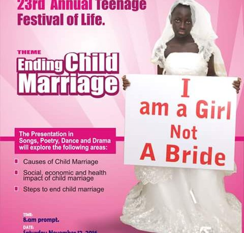 Young People Say No To Child Marriage