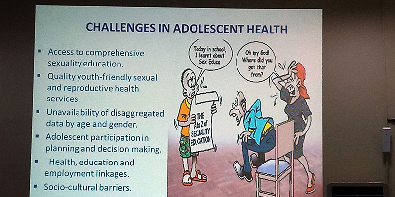 AHI Joins Stakeholders' Meeting to Review National Adolescent and Youth Health Policy
