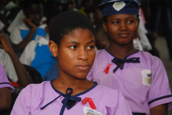 Youths Commemorate World AIDS Day 2014
