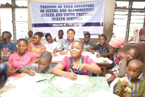 AHI Trains Health Workers and Peer Educators on Adolescent Youth-Friendly Healthcare Service Provision