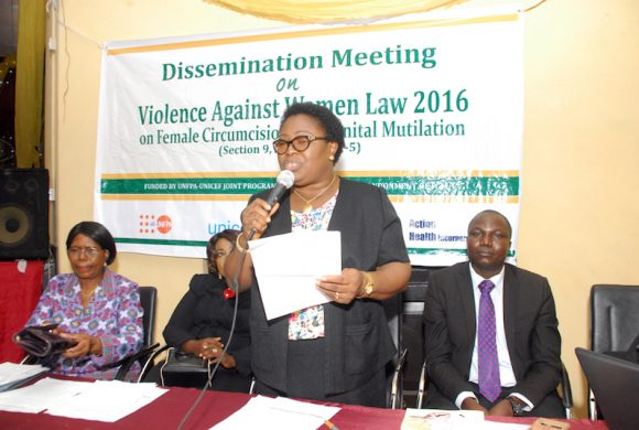 Dissemination of the Simplified Oyo State Law Prohibiting Violence Against Women to Stakeholders in Oyo State