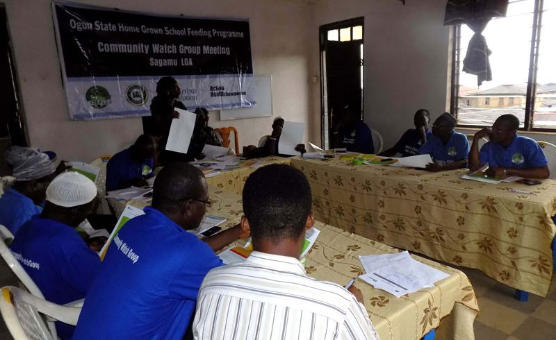 CWG Meeting in Sagamu LGA