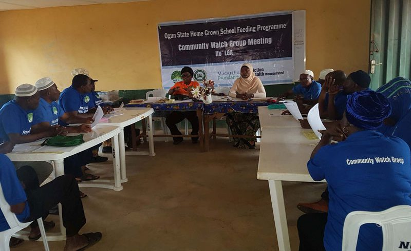 CWG Meeting in Ifo LGA