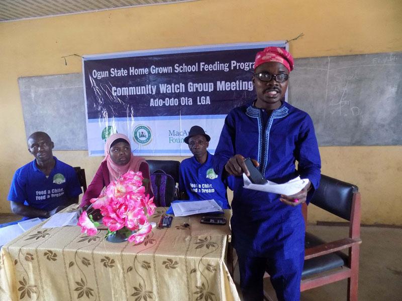 Communty Watcgroup Meeting Ado Odo Ota Action Health Incorporated