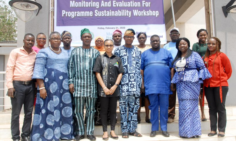 Monitoring and Evaluation for Sustainability Workshop for Ogun Home Grown School Feeding Team - February 2020