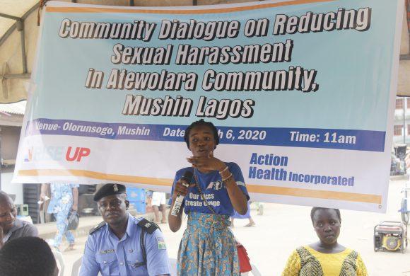 Young Girls Speak Against Sexual Harassment in Atewolara, Mushin