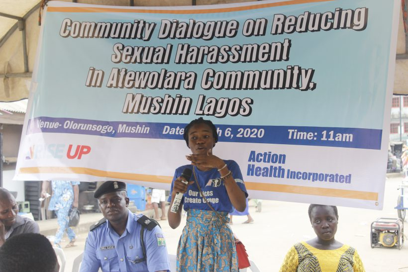 Young Girls Speak Against Sexual Harassment in Atewolara, Mushin